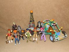 Matt Hatter Chronicles Figure Bundle Including Dune Buggy And Pulse Blast