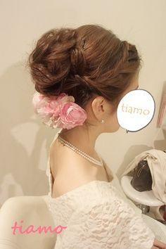 美人花嫁さまの4アップスタイル♡リハ編♡ の画像|大人可愛いブライダルヘアメイク『tiamo』の結婚カタログ