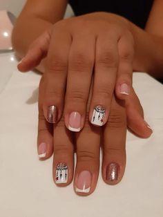 French Nails, Pretty Nails, Nail Designs, Nail Art, Sexy, Beauty, Long Layered Hair, Frases, Vestidos