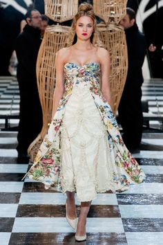 SPRING 2014 COUTURE FRANK SORBIER COLLECTION