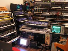 Gearporno Pics Vol - HiEnd Synths - Sequencer Studio Equipment, Dj Equipment, Studio Gear, Music App, Art Music, Music Artwork, Electronic Music Instruments, Musical Instruments, Home Studio Music