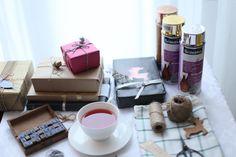 DIY metaliczny blask - 8 pomysłów na pakowanie prezentów   Conchita Home