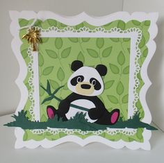 """Dol-fijne"" kaartjes voor Kika: Lieve panda..."