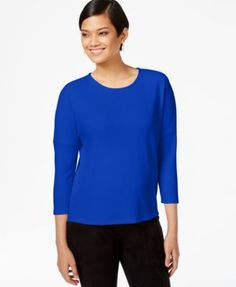 Bar III Solid Crepe Top, Only at Macy's