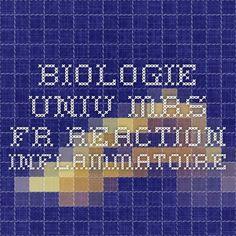 biologie.univ-mrs.fr REACTION INFLAMMATOIRE