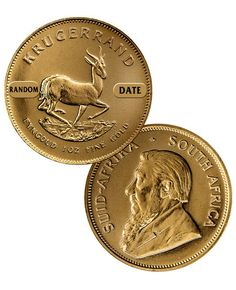 Special Price! Random Date South Africa 1 Troy Oz Gold Krugerrand Coin SKU26054