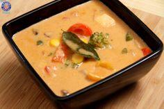 Red Thai Curry - Easy To Make #Vegetarian Homemade Thai #Curry #Recipe By Ruchi Bharani