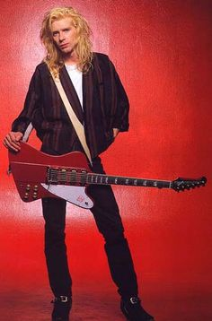 Steve Clark (Def Leppard) Miss you! So wish I could have seen him in concert on either the Pyromania tour or the Hysteria tour.