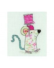 Anchor Emily ButtonThe Mouse Cross Stitch Kit EMB0010