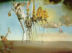 Title: The Temptation of Saint Anthony, 1946 Artist: Salvador Dali (inspired by) Medium: Hand-Painted Art Reproduction