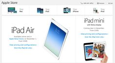 Apple Online Store returns with new Macs & iPads