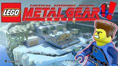 LEGO Metal Gear Solid #MetalGearSolid #mgs #MGSV #MetalGear #Konami #cosplay #PS4 #game #MGSVTPP