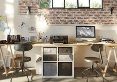 Bureau industriel et cosy