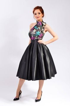 Blouse And Skirt, Pleated Midi Skirt, Dress Skirt, Satin Dresses, Sexy Dresses, Casual Dresses, Pretty Dresses, Beautiful Dresses, Going Out Outfits