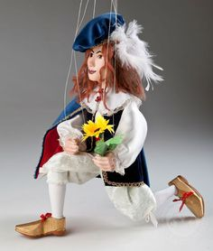 Prince Damian - Czech Marionettes.