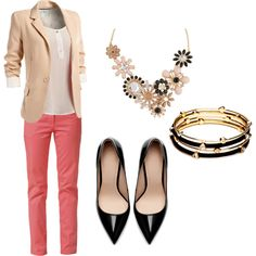 """Chic Work Attire"" on Polyvore"