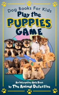 Hey there kids! Do you love dogs, especially puppies? If so, then you will love  reading, learning and playing this interactive ebook all about puppies. For more information visit: http://booksbybarry.info/