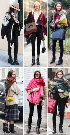 Inspiration: Wear a Blanket