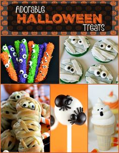 Adorable #Halloween Treats Perfect for #Kids | Dreaming of Leaving…