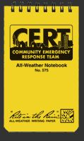 Rite in the Rain CERT All-Weather Pocket Notebook