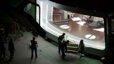 The Enterprise bridge in Star Trek: Enterprise (2001-2005)