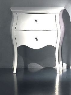 Inspired by the French Louis Era, the Diva Collection Luxury Bedside Table. This beautiful bedside table is the most stunning piece to place by a bed, use as a modern side table or unique small chest of drawers in any room in the house. Truly versatile. Adding style and sophistication to any setting.