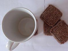 dessous de verre/mug laine  et noeud de Les créations de Celebrindal sur DaWanda.com