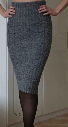 Crochet Skirts, Knit Skirt, Knit Dress, Icelandic Sweaters, Vogue Knitting, Easy Knitting, Kimono Fashion, Knitting Designs, Dress To Impress