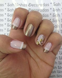 Beautiful nail art designs that are just too cute to resist. It's time to try out something new with your nail art. Beautiful Nail Designs, Beautiful Nail Art, Gorgeous Nails, Love Nails, Toe Nail Designs, Nail Polish Designs, Nail Deco, Oval Acrylic Nails, Metallic Nail Polish
