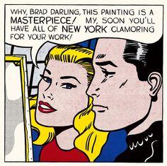 El Pop Art de Lichtenstein desembarca en Washington  La National Gallery repasa la carrera artística del pintor con una exposición de más de 170 obras, hasta el 13 de enero