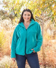 Learn hot to change the Cascade Mtn Pullover into a Jacket with my Craftsy Class Sew Outerwear Fleece with Confidence from Start to Finish