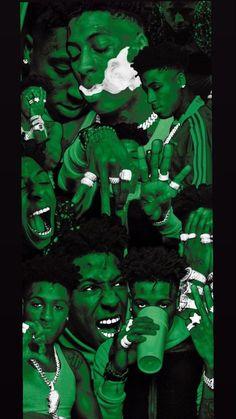 NBA YoungBoy Wallpaper iPhone 11 Galaxy - Cartoon, Aesthetic Background - Empire BBK
