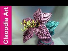 Lilia origami (origami flower) - YouTube