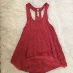 Free People Tank Free people tank only worn ONE time. Great condition! Free People Tops Tank Tops