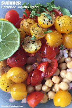 Garbanzo Tomato Sala