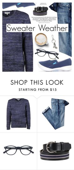 """""""Sweater Weather"""" by regettacanoe ❤ liked on Polyvore featuring YMC, 7 For All Mankind, Salvatore Ferragamo, xO Design, Michael Kors, men's fashion, menswear, polyvoreeditorial, wintersweater and polyvoreset"""