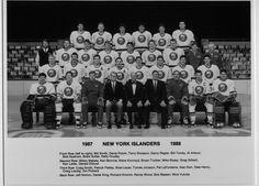 The 1987-1988 New York Islanders.