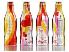 Cool Coca Cola bottles