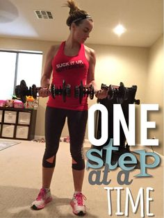 ONE STEP AT A TIME — FORWARD FITNESS