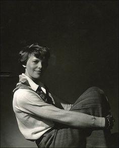 Amelia Earhart circa 1927