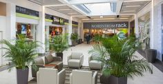 """The expansion of the Warwick Mall in Rhode Island included adding a new concourse with new tenants, a Nordstrom Rack anchor and a """"Lullaby Lounge"""" for nursing mothers."""