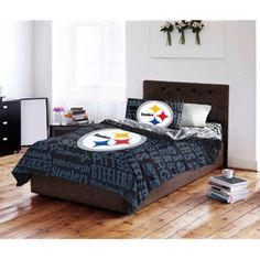 ac883c57f Pittsburgh Steelers Bed In Bag Set - Walmart.com
