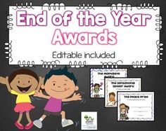 Your students will love to receive these fun and colorful end of the year awards. These certificates focus on academic achievement, character and personality traits. There are 40 unique awards to choose from so every child in your class can have a different one if you would like. | by Staying Cool in the Library Classroom Activities, Fun Activities, Classroom Ideas, Last Day Of School, School Stuff, Student Awards, Graduation Day, End Of Year, Kindergarten