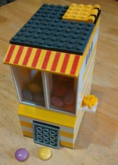 Working on my lego candy dispenser...