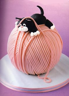 Laney would love this cake! Maybe put it on a fancy tea party style plate...?