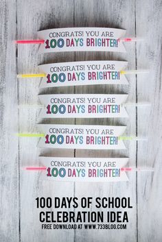 100 Days of School B
