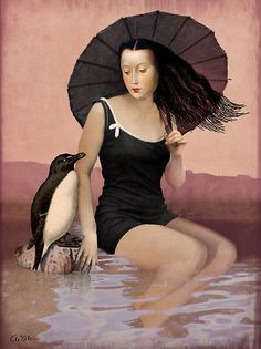 On the beach ~ by Catrin Welz-Stein