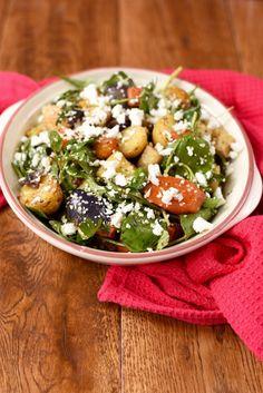 Roasted Vegetable Winter Salad