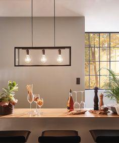Lampada a sospensione vintage Charterhouse, perfetta come luce per il soggiorno. Disponibile su Lampade.it, numero articolo: 3031780.