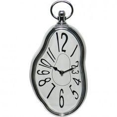 Reloj blando estilo Dalí, de Pared - Tienda de regalos originales QueLoVendan.com